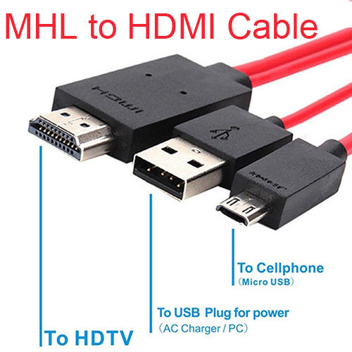 Cable HDMI 2m Samsung Galaxy S6 Edge