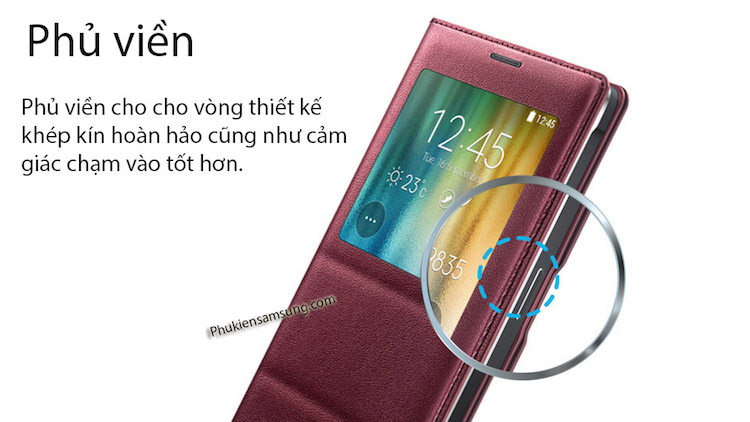 Bao da Sview Samsung Galaxy Note 4