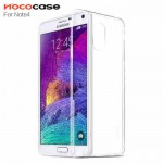 Ốp lưng Silicon trong suốt Note 4 Hoco