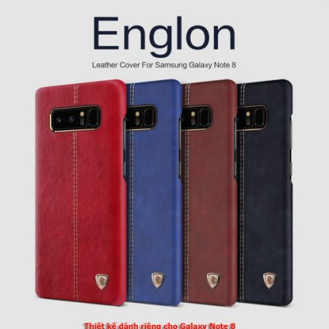 Ốp lưng Galaxy Note 8 Nillkin Leather