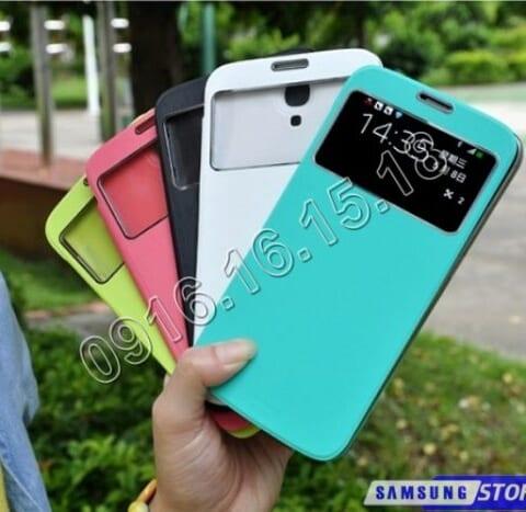 Bao da Samsung Galaxy Mega 5.8 Duos dạng S-View