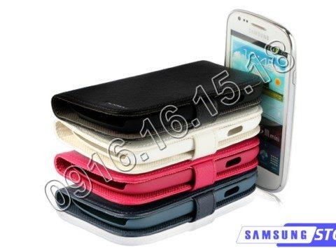 Bao da điện thoại cho S3 Mini i8190 hiệu Nuoku