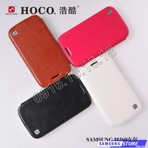 Bao da Samsung Galaxy Core Duos i8262 hiệu Hoco Bao da Samsung Galaxy Core Duos i8262 hiệu Hoco