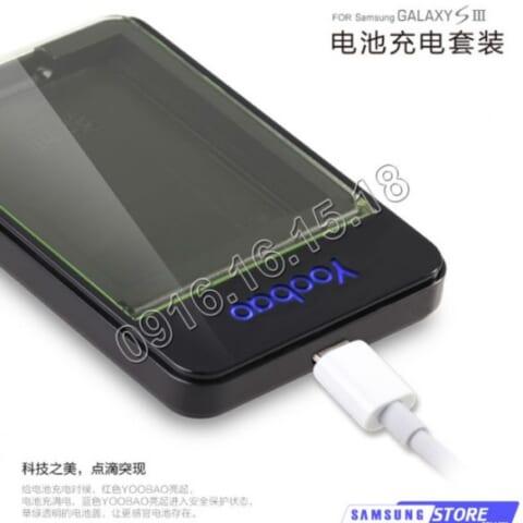 Dock sạc Pin rời cho Samsung Galaxy S3 i9300 hiệu Yoobao.