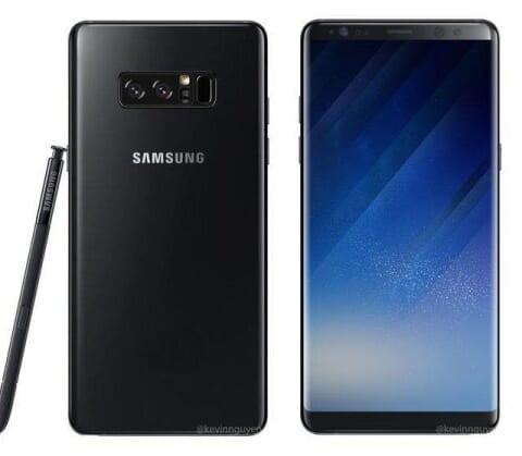 Nắp lưng Samsung Galaxy Note 8
