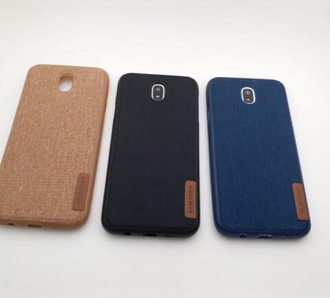 Ốp lưng vải Samsung Galaxy J3 Pro 2017