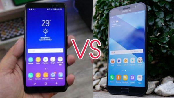 So sánh Galaxy A7 2017 và A8 2018 có đáng nâng cấp