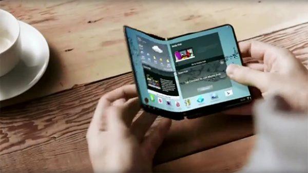 Galaxy X của Samsung sẽ được trang bị màn hình cảm ứng lực