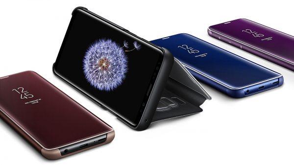 Bao da Galaxy S9 Clear View