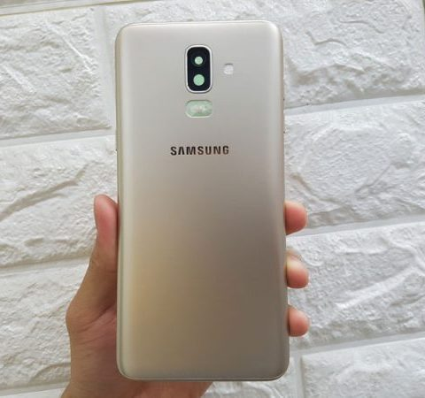 bộ vỏ nắp lưng samsung j8 2018 chính hãng samsung