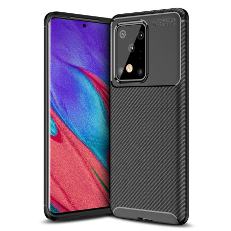 Ốp lưng vân Carbon Samsung Galaxy S11 Plus hiệu Olixar