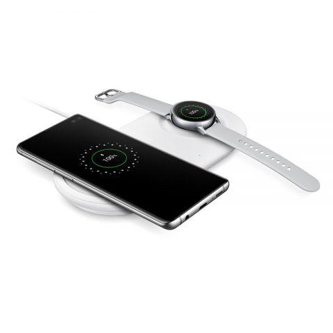 Đế sạc đôi không dây Samsung S20 Plus siêu nhanh