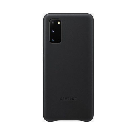 Ốp lưng Samsung S20 Leather Cover màu đen giá rẻ Đà Nẵng TPHCM