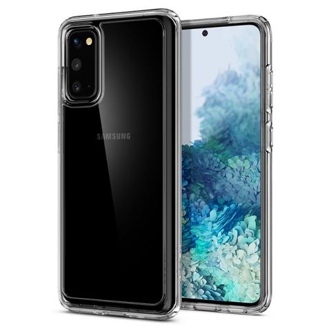 Ốp lưng trong suốt Samsung S20 Spigen Ultra Hybrid chính hãng