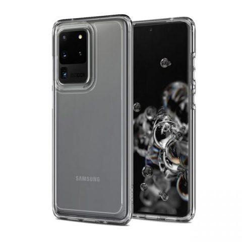 Ốp lưng Spigen Galaxy S20 Ultra trong suốt đẹp